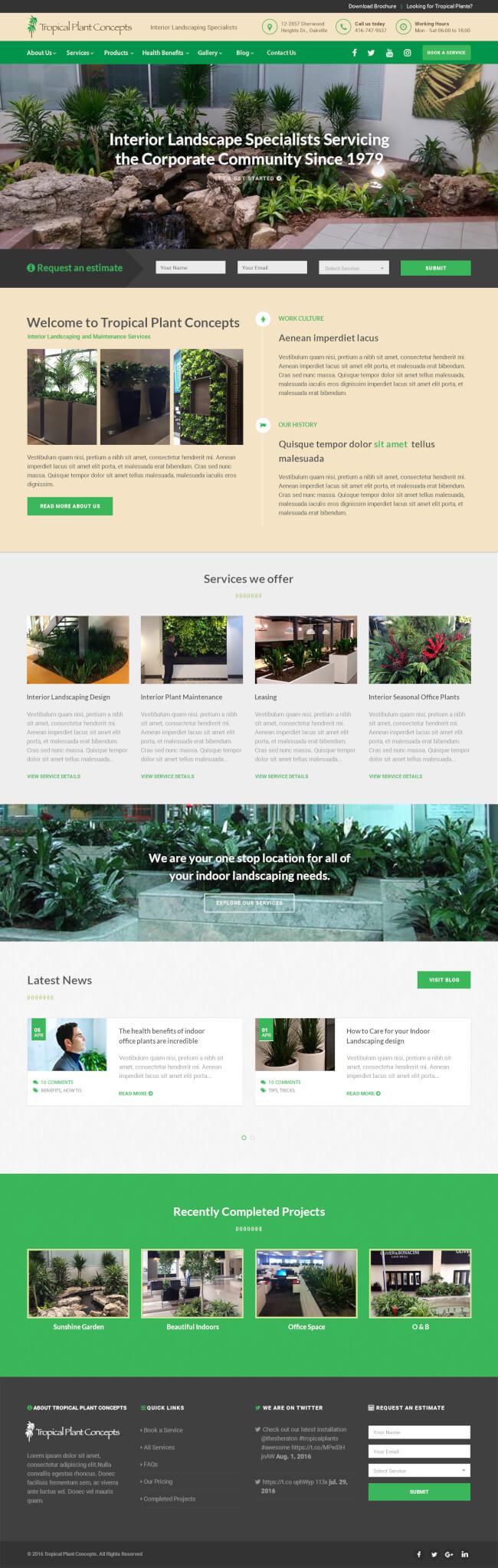 Tropical Plant Concepts